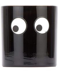 Anya Hindmarch Large Coffee Scented Candle - Black