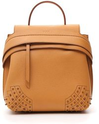Tod's Wave Studded Backpack