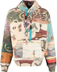 Amiri Patchwork Print Hoodie - Multicolour