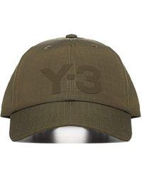 Y-3 Logo Patch Baseball Cap - Green