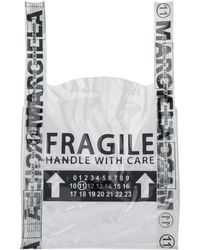Maison Margiela Fragile Tote Bag - White
