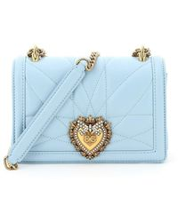 Dolce & Gabbana - Devotion Small Crossbody Bag - Lyst