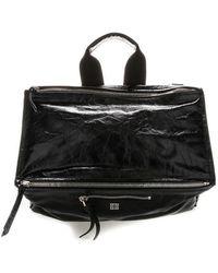 Givenchy 4g Crinkled Messenger Bag - Black