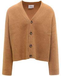 Nanushka Buttoned-up Cardigan - Brown