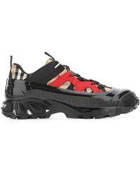 Burberry Multicolour Arthur Sneakers Nd Uomo