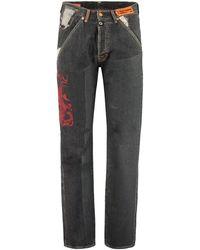 Heron Preston 501 Jeans - X Levi's - Black