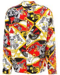 Versace Jeans Couture Baroque Print Shirt - Multicolour