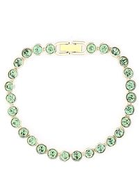 Swarovski Tennis Bracelet - Green