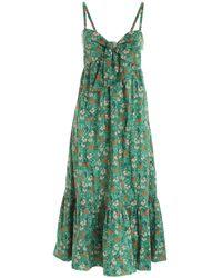 L'Autre Chose Bow Dress - Green