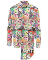 Gcds Cotton Shirt - Multicolour