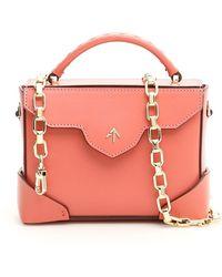 MANU Atelier Top Handle Crossbody Bag - Pink