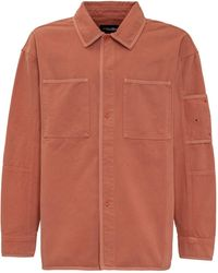 A_COLD_WALL* * Logo Embroidered Overshirt - Orange