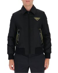 Prada Outerwear Jacket - Black