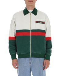Gucci Zipped Horsebit Detail Sweater - Multicolor