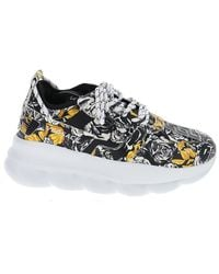 Versace Chain Reaction Low-top Sneakers - Multicolor