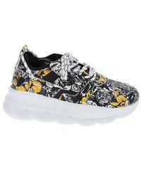 Versace Chain Reaction Baroque Sneakers - Multicolor