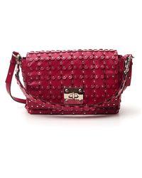 RED Valentino Redvalentino Flower Puzzle Crossbody Bag