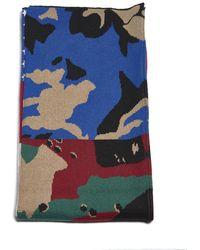 Gosha Rubchinskiy - American Flag Knitted Scarf - Lyst