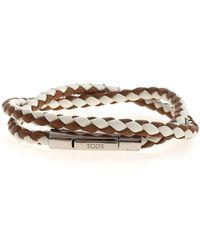 Tod's Weave Bracelet - Brown