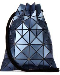 Bao Bao Issey Miyake Lucent Drawstring Bucket Bag - Blue