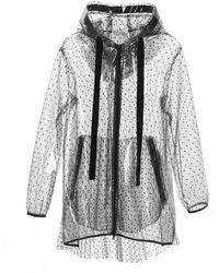 RED Valentino Polyamide Outerwear Jacket - Black