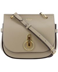 Mulberry Amberley Satchel Bag - Grey