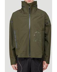 adidas X Parley Myshelter Rain Jacket - Green