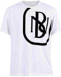 Neil Barrett Logo Print T-shirt - White