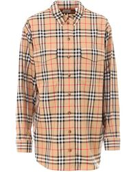 Burberry Vintage Check Shirt - Natural