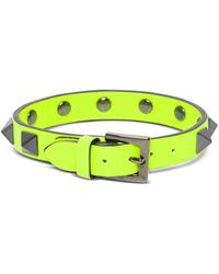 Valentino Garavani Rockstud Bracelet - Yellow