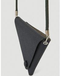 Maison Margiela Triangle Wallet - Black