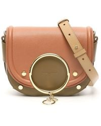 See By Chloé Mara Crossbody Bag - Natural