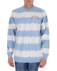 Vans Tie Dye Striped T-shirt - Blue