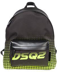 DSquared² Men's Rucksack Backpack Travel - Multicolour
