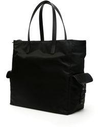 Prada Utility Shopper Bag - Black