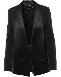 Givenchy Single-breasted Tailored Blazer - Black