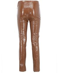 Pinko Women's Trousers - Brown