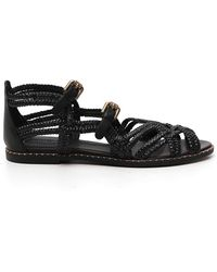 See By Chloé Buckled Sandals - Black