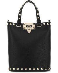 Valentino Garavani Rockstud Tote Bag - Black