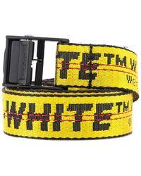 Off-White c/o Virgil Abloh Mini Industrial Belt - Yellow