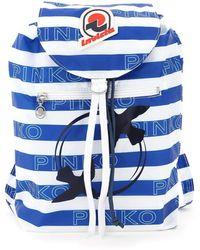 Pinko Invicta X Minisac Backpack - Blue