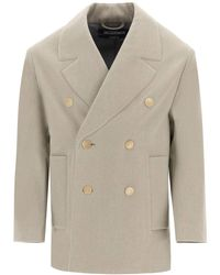 Jacquemus Le Caban Double-breasted Jacket - Multicolour