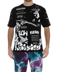 Mauna Kea Graphic Print T-shirt - Black