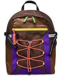 Etro Paisley Printed Lace-up Backpack - Multicolour