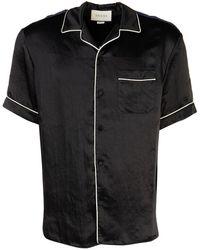 Gucci Printed Contrast Trim Pajama Shirt - Multicolor
