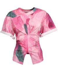 Isabel Marant Tie-dye T-shirt - Pink