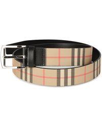 Burberry Vintage Check Belt - Multicolor