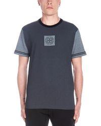 Stone Island Logo Detail T-shirt - Blue