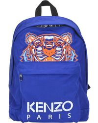 KENZO - Tiger Embroidery Backpack - Lyst