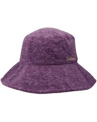 we11done Logo Embroidered Bucket Hat - Purple